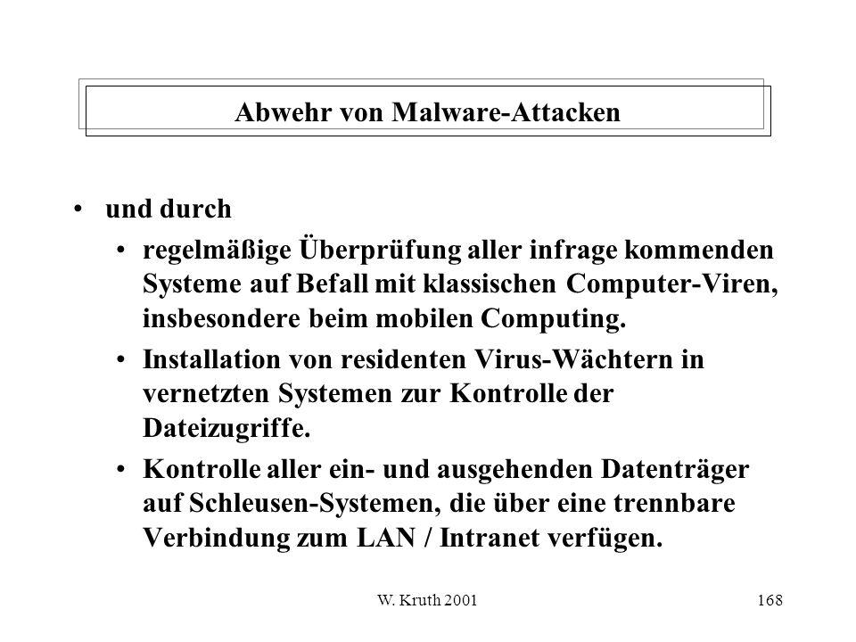Abwehr von Malware-Attacken