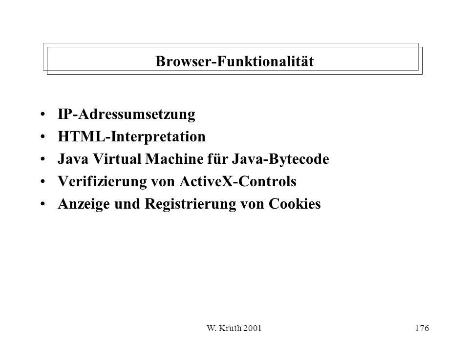 Browser-Funktionalität