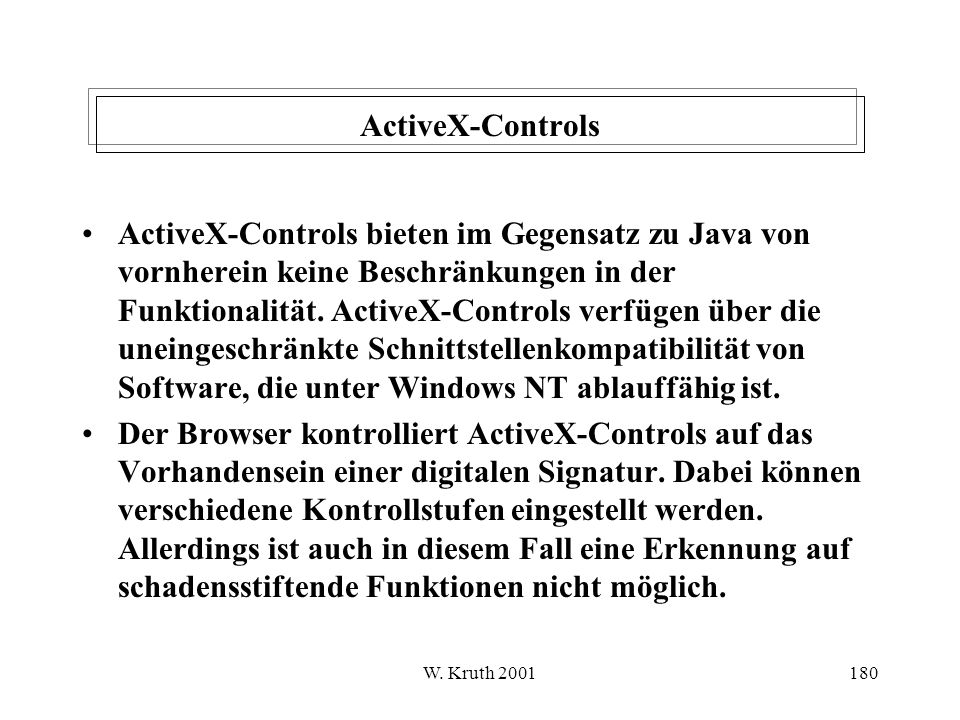 ActiveX-Controls