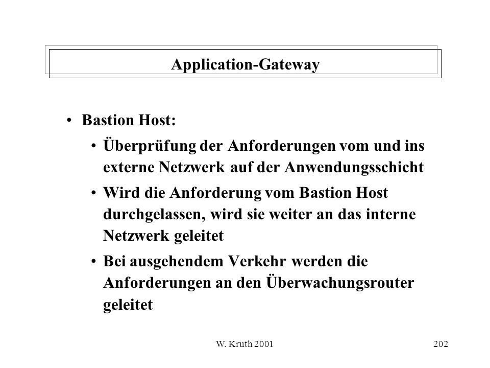 Application-Gateway Bastion Host: