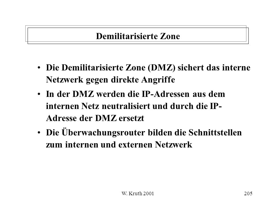 Demilitarisierte Zone