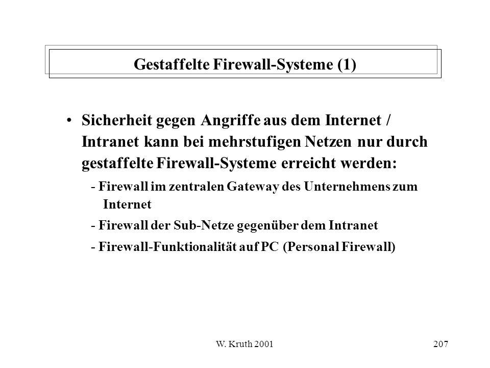 Gestaffelte Firewall-Systeme (1)
