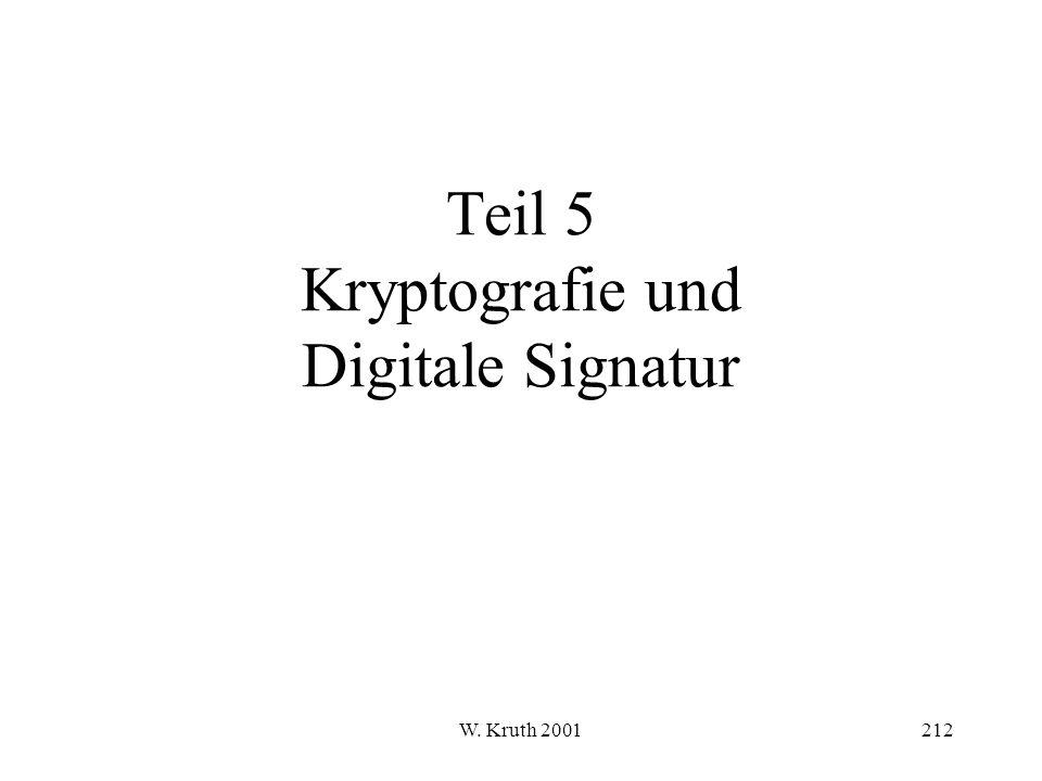 Teil 5 Kryptografie und Digitale Signatur