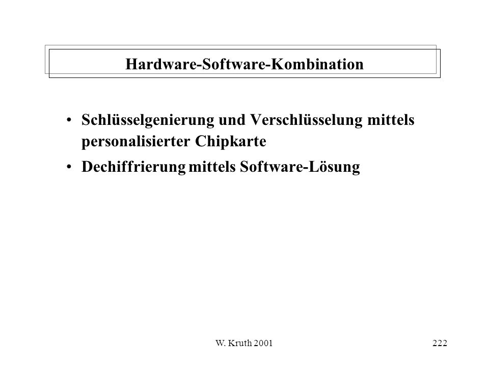 Hardware-Software-Kombination