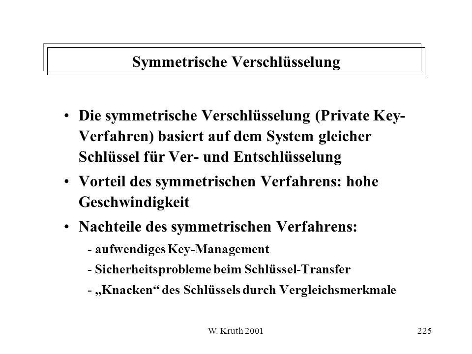 Symmetrische Verschlüsselung