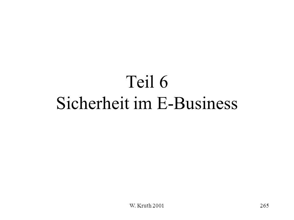 Teil 6 Sicherheit im E-Business
