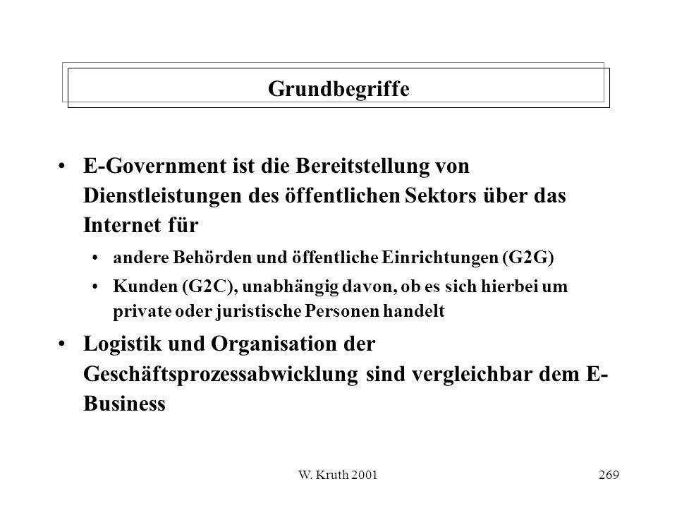 Grundbegriffe E-Government ist die Bereitstellung von Dienstleistungen des öffentlichen Sektors über das Internet für.