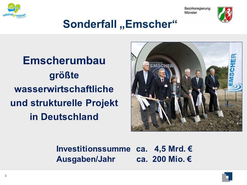 "Sonderfall ""Emscher Emscherumbau"