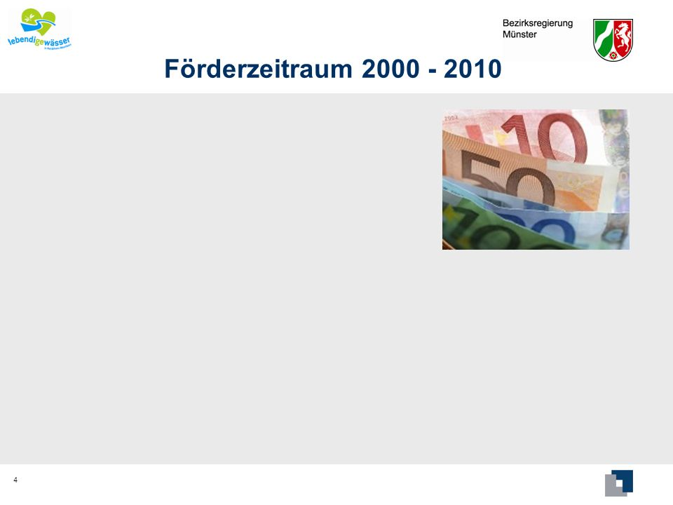 Förderzeitraum 2000 - 2010