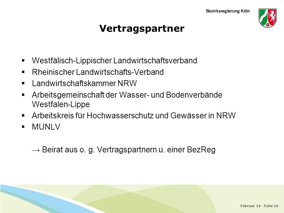 Vertragspartner Westfälisch-Lippischer Landwirtschaftsverband