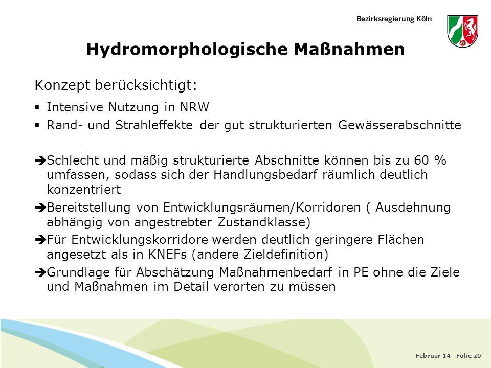 Hydromorphologische Maßnahmen
