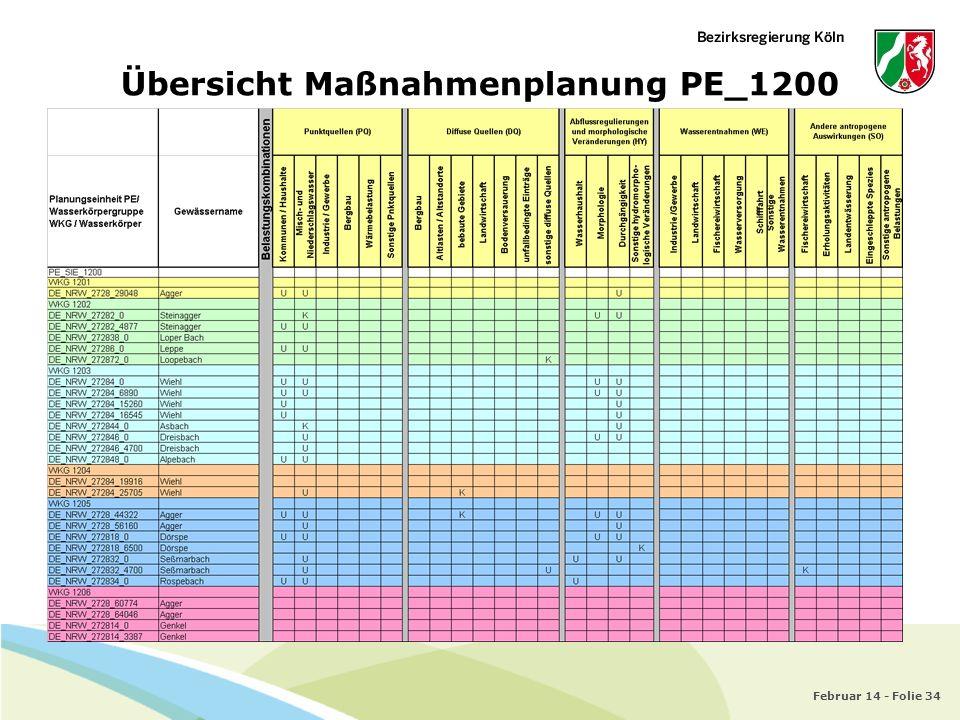 Übersicht Maßnahmenplanung PE_1200