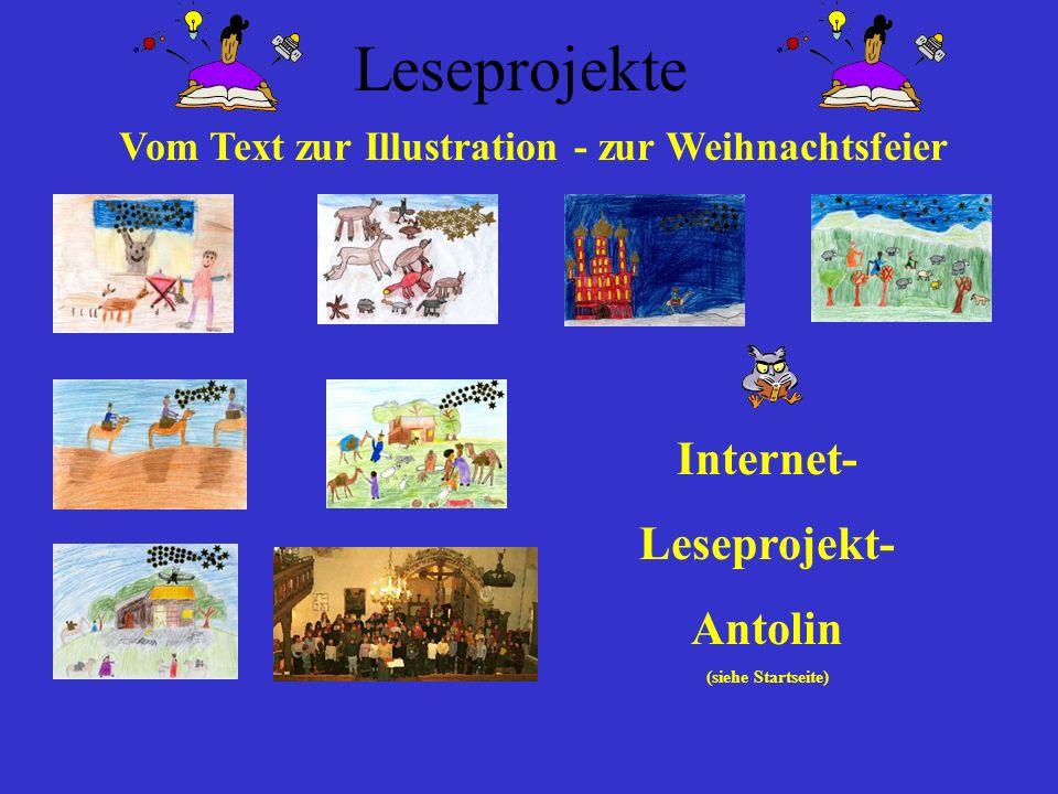 Vom Text zur Illustration - zur Weihnachtsfeier
