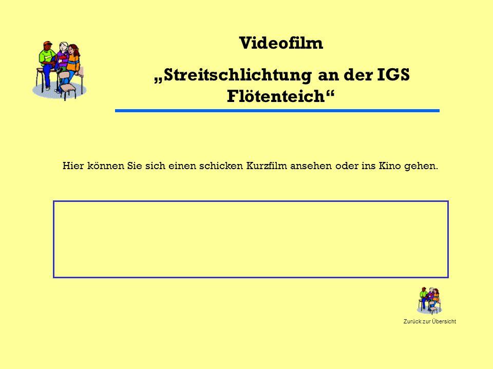 """""""Streitschlichtung an der IGS Flötenteich"""