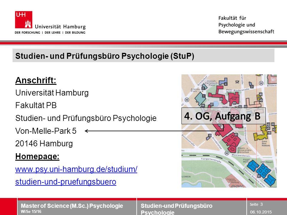 Studien- und Prüfungsbüro Psychologie (StuP)