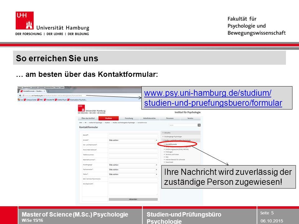 www.psy.uni-hamburg.de/studium/ studien-und-pruefungsbuero/formular