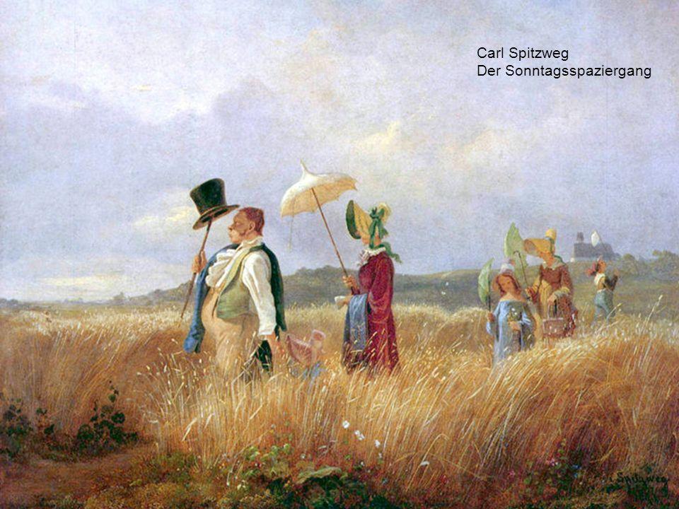 Carl Spitzweg Der Sonntagsspaziergang