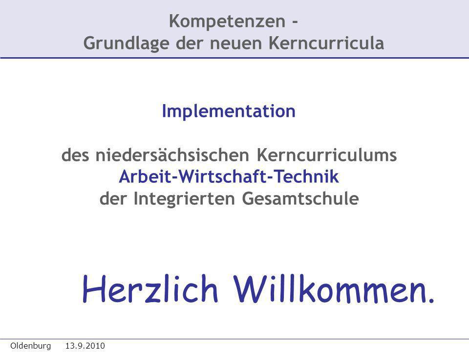 Kompetenzen - Grundlage der neuen Kerncurricula
