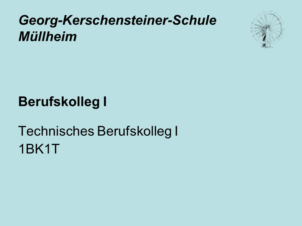Georg-Kerschensteiner-Schule Müllheim
