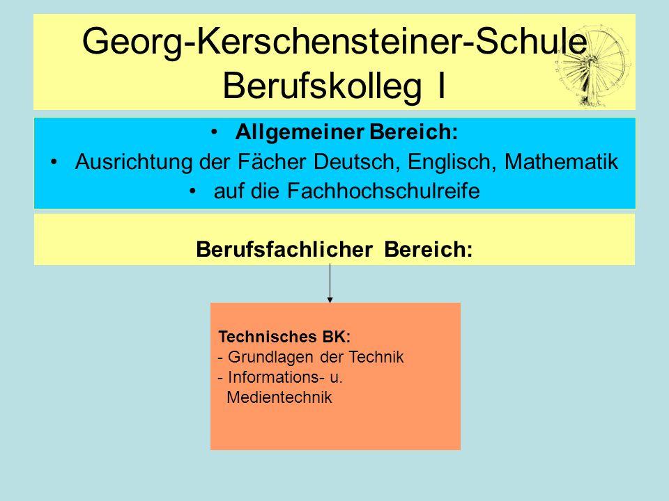 Georg-Kerschensteiner-Schule Berufskolleg I