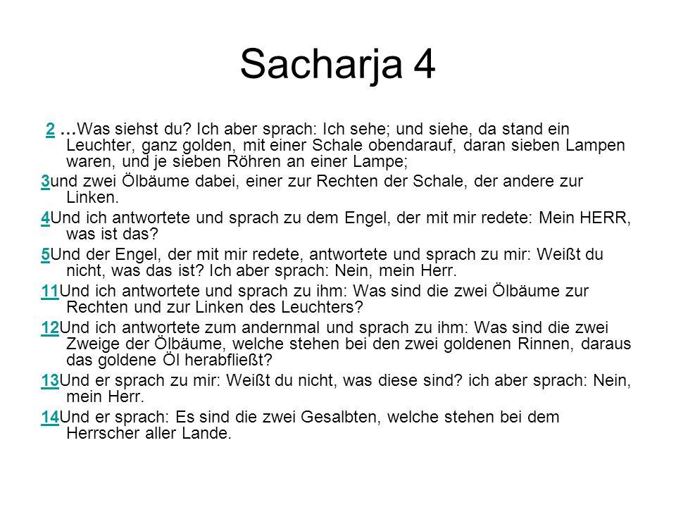 Sacharja 4