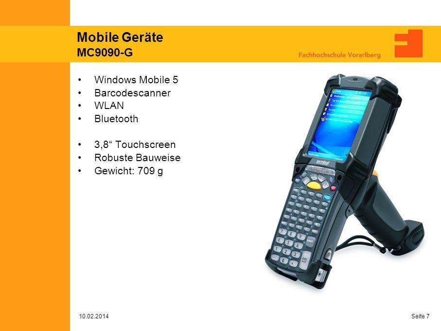 Mobile Geräte MC9090-G Windows Mobile 5 Barcodescanner WLAN Bluetooth