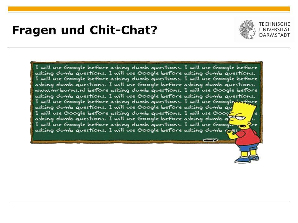 Fragen und Chit-Chat 11. Januar 2011 |