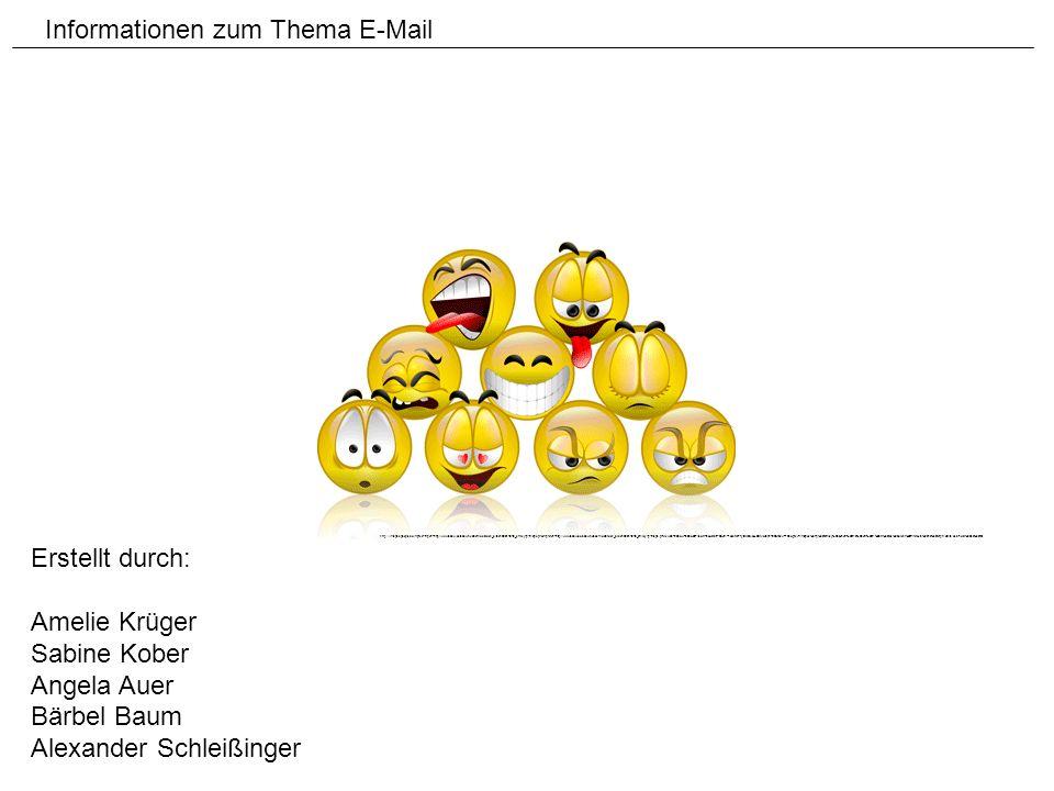 Informationen zum Thema E-Mail