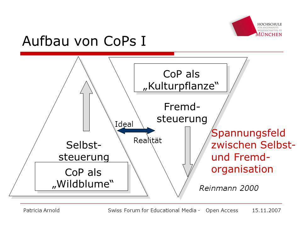 "CoP als ""Kulturpflanze"