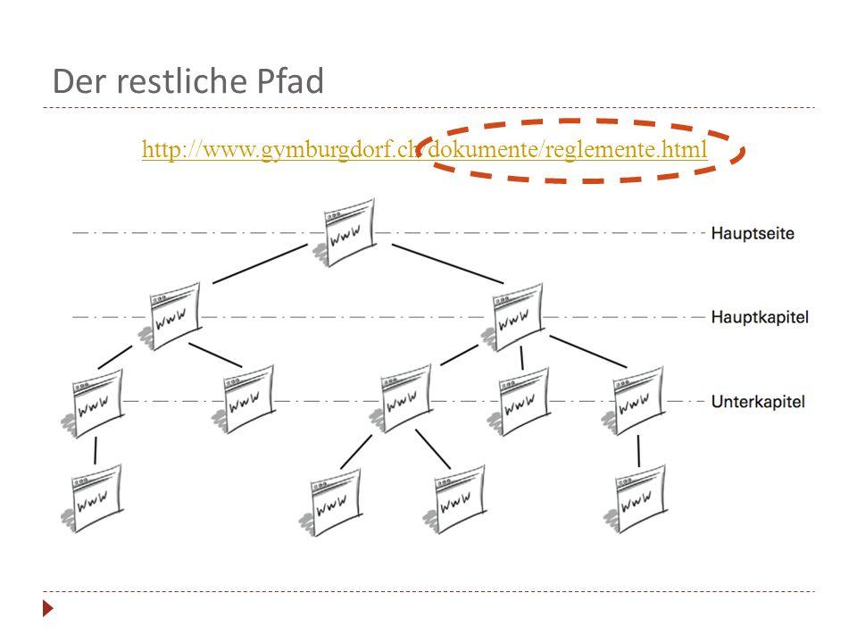 Der restliche Pfad http://www.gymburgdorf.ch/dokumente/reglemente.html