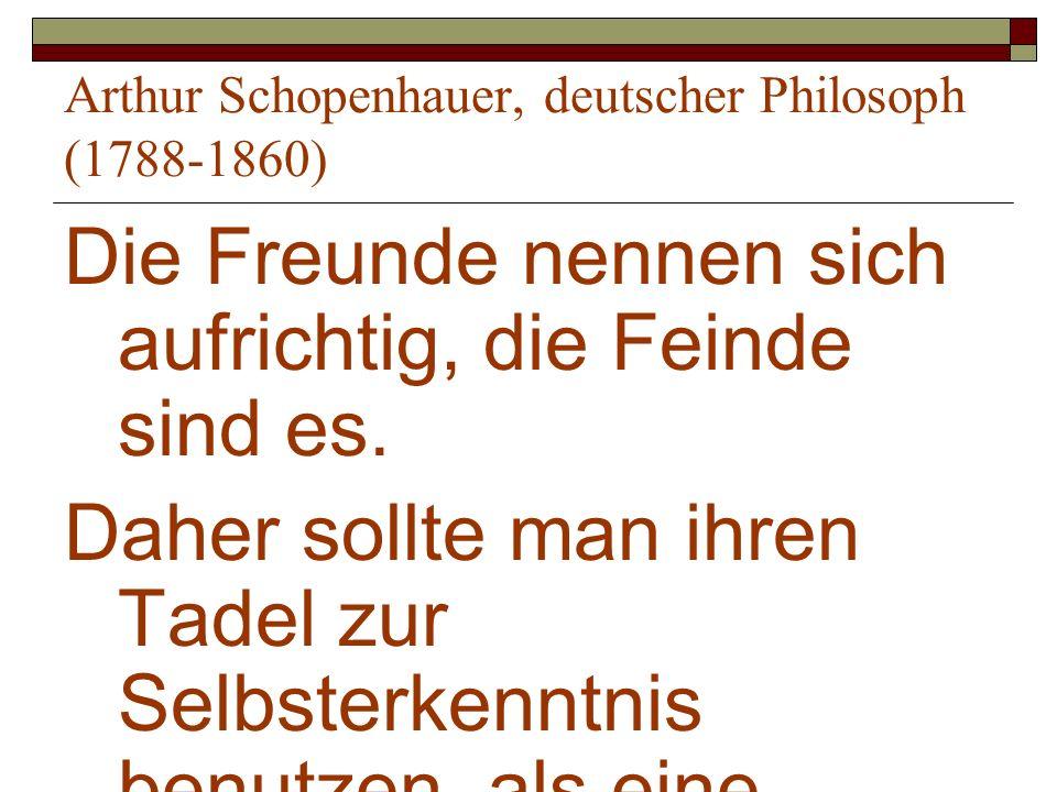 Arthur Schopenhauer, deutscher Philosoph (1788-1860)