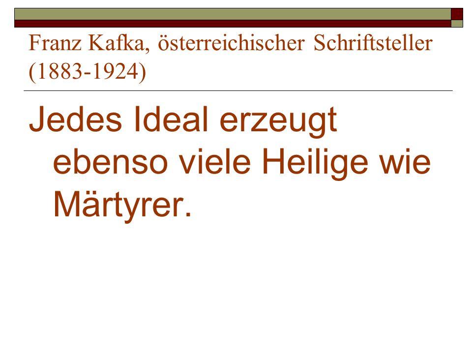 Franz Kafka, österreichischer Schriftsteller (1883-1924)