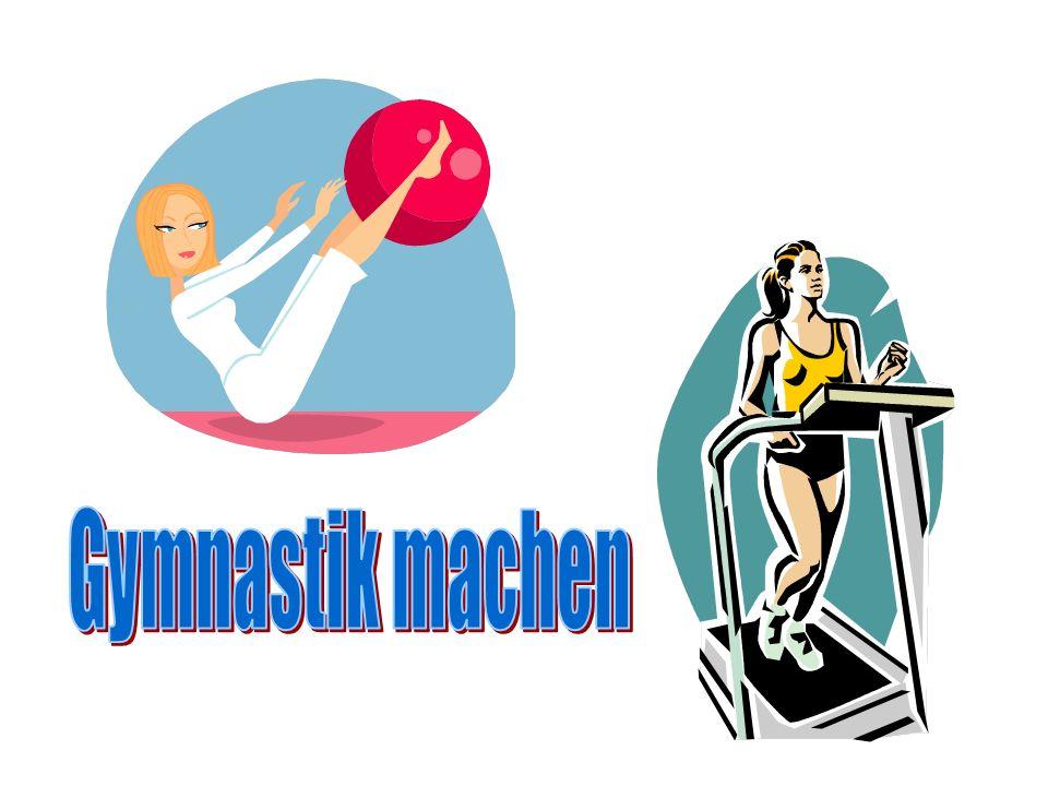 Gymnastik machen