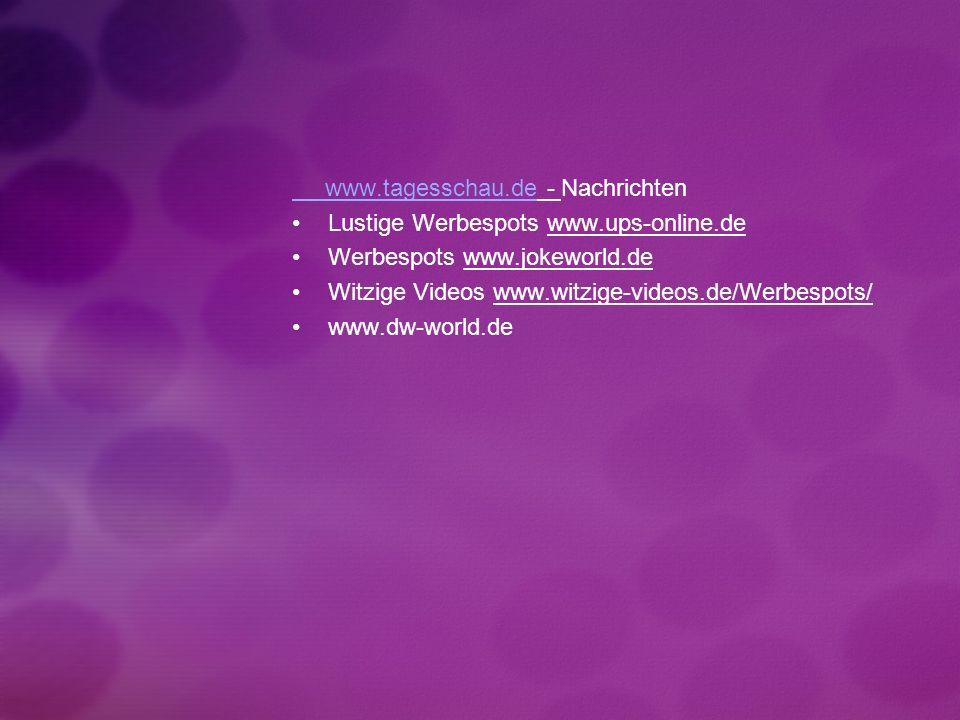 www.tagesschau.de - Nachrichten