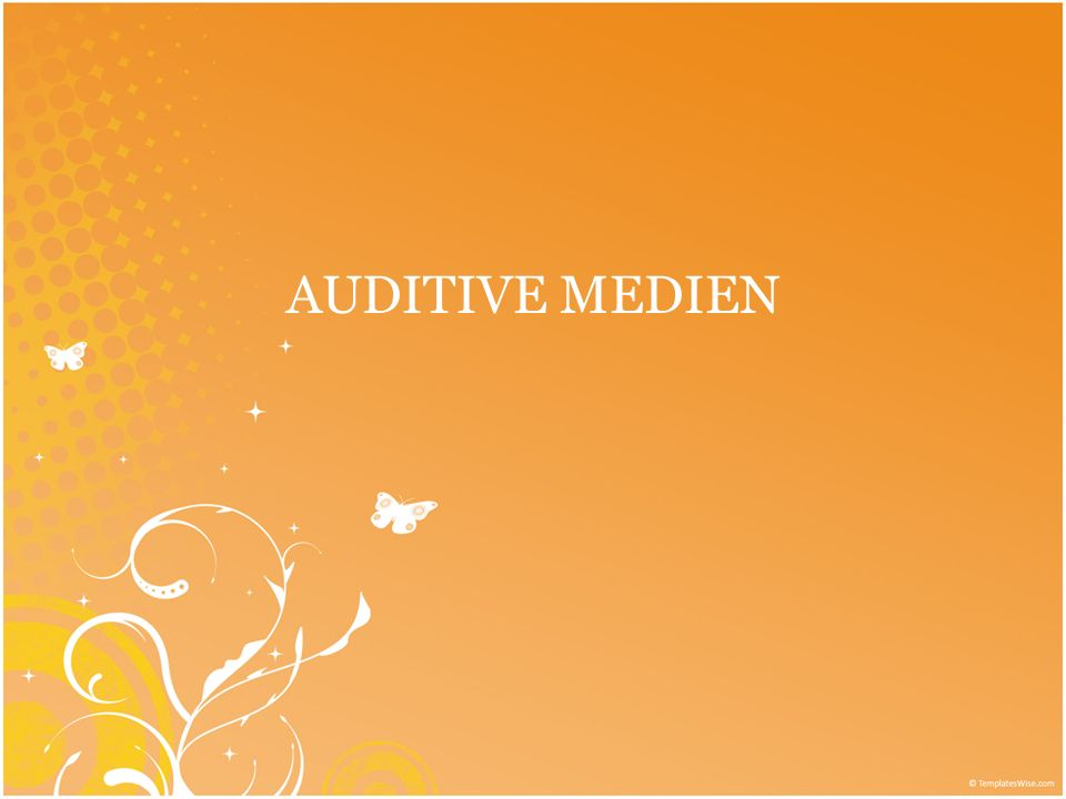 AUDITIVE MEDIEN