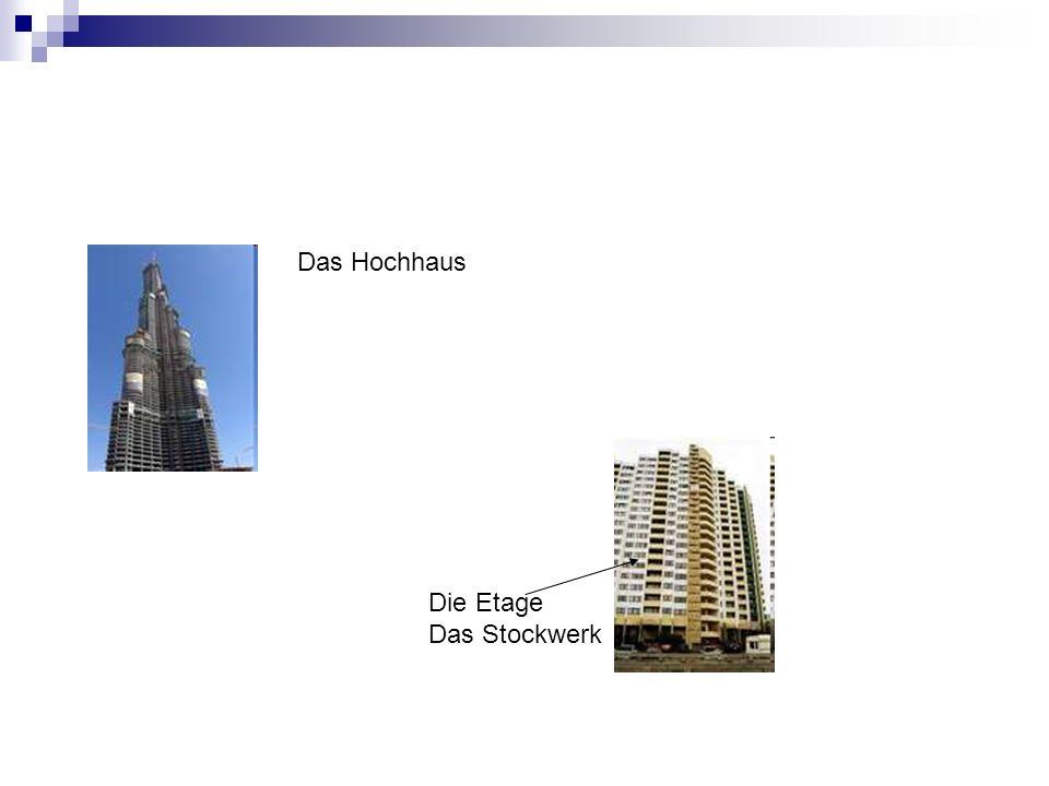 Das Hochhaus Die Etage Das Stockwerk