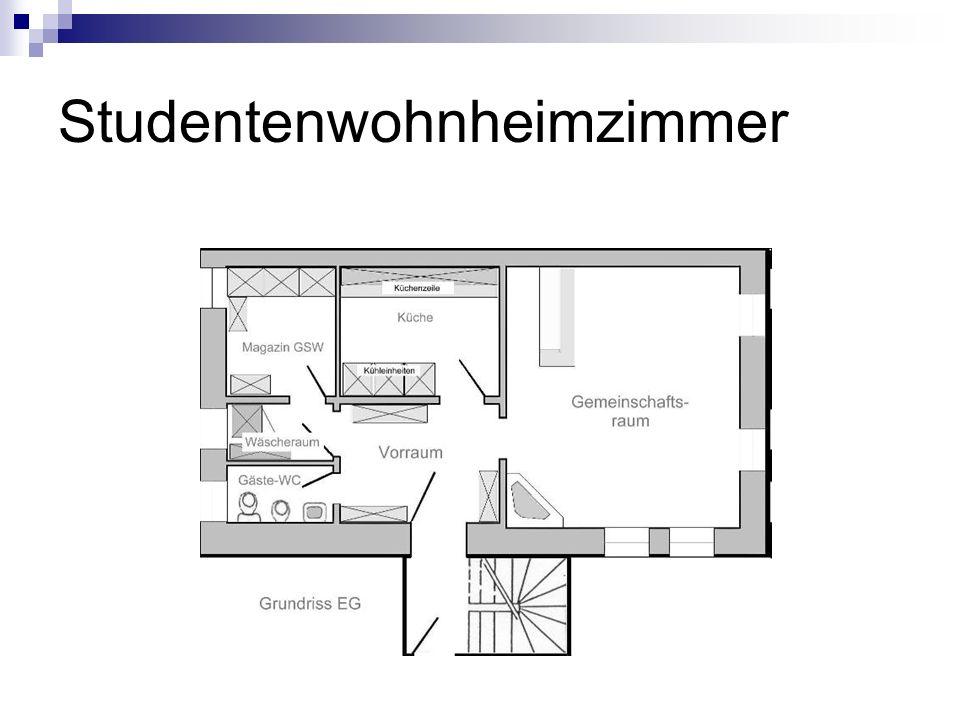 Studentenwohnheimzimmer