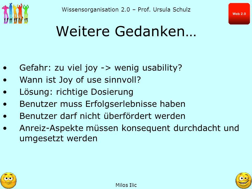 Wissensorganisation 2.0 – Prof. Ursula Schulz