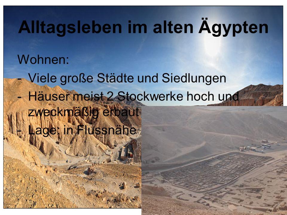 Alltagsleben im alten Ägypten