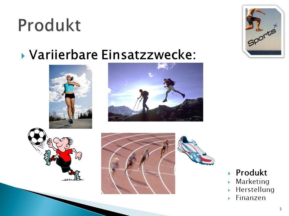 Produkt Variierbare Einsatzzwecke: Produkt Marketing Herstellung