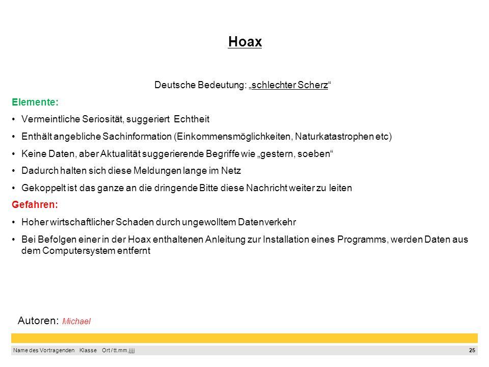 """Deutsche Bedeutung: """"schlechter Scherz"""