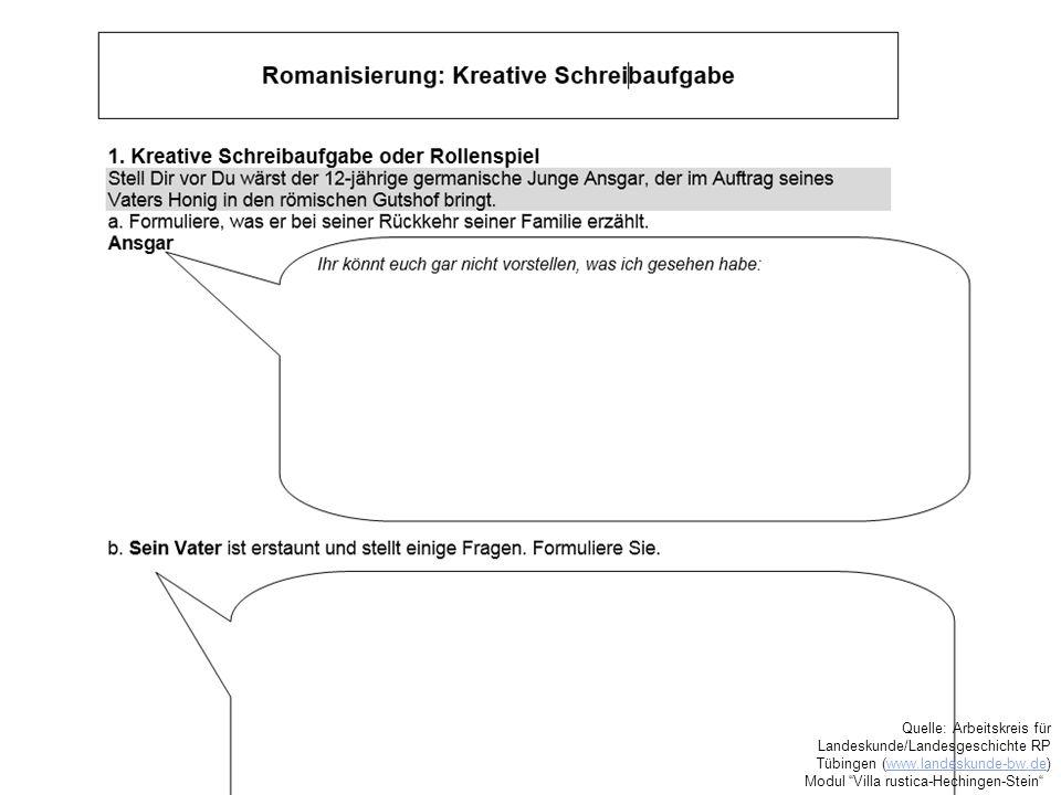 Quelle: Arbeitskreis für Landeskunde/Landesgeschichte RP Tübingen (www