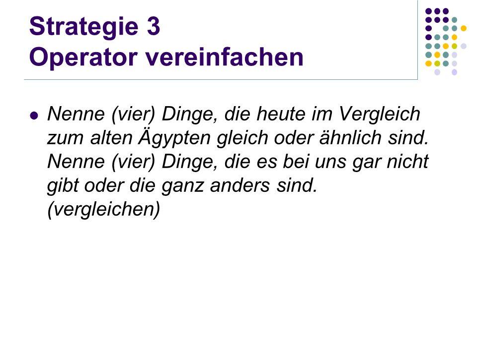 Strategie 3 Operator vereinfachen