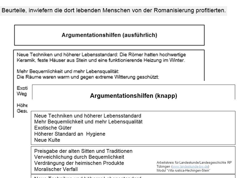 Arbeitskreis für Landeskunde/Landesgeschichte RP Tübingen (www