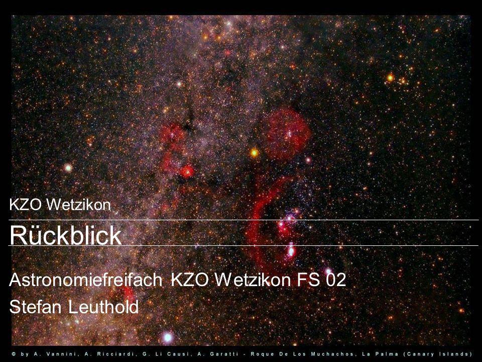 Astronomiefreifach KZO Wetzikon FS 02 Stefan Leuthold