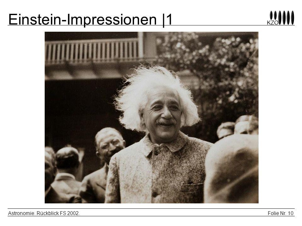 Einstein-Impressionen |1