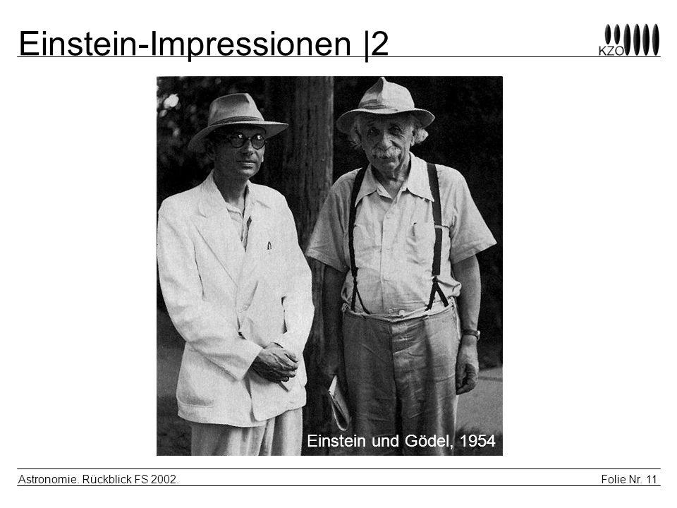 Einstein-Impressionen |2