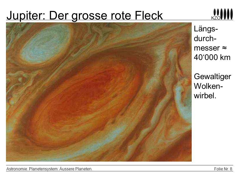 Jupiter: Der grosse rote Fleck