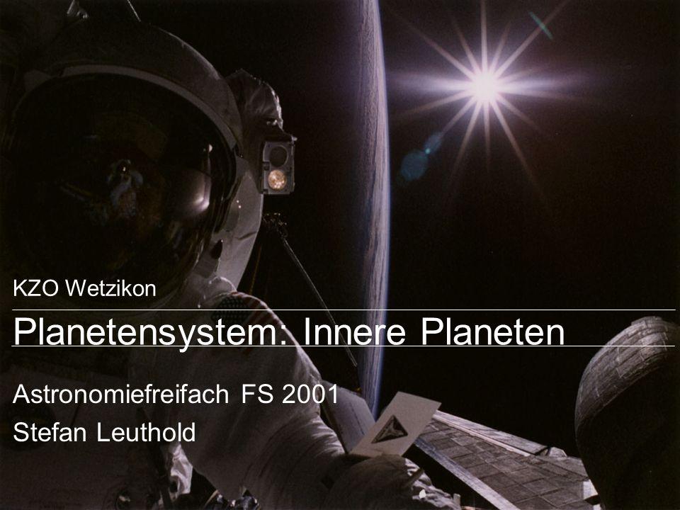 Planetensystem: Innere Planeten