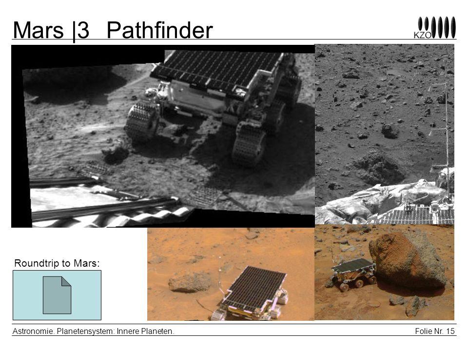 Mars |3 Pathfinder Roundtrip to Mars: